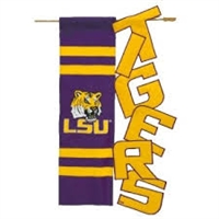 LSU VERTICAL BANNER