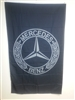 MERCEDES BENZ BLACK VERTICAL 5ft x 3ft