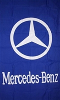 MERCEDES BENZ-VERTICAL 5ft x 3ft