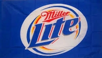MILLER LITE BEER 3FT X 5FT