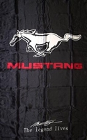 MUSTANG-VERTICAL 5ft x 3ft