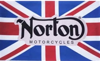 NORTON MOTORCYCLE 3FT X 5FT