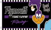 PLYMOUTH ROAD RUNNER 3FT X 5FT #5