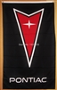 PONTIAC VERTICAL FLAG 5FT X 3FT