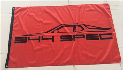 PORSCHE 944 SPEC RACING 3FT X 5FT