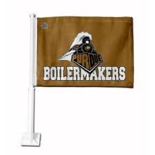 PURDUE CAR FLAG