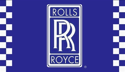 ROLLS ROYCE 3FT X 5FT