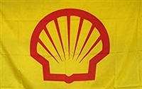 SHELL GAS FLAG