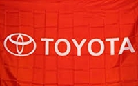 TOYOTA  RED 3FT X 5FT PLAIN