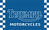 TRIUMPH-BIKE 3FT X 5FT