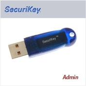 USB  Duplicate SecuriKey Admin Token