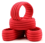 AKA34001S 18 Buggy Shaped Insert Red Soft 4 pcs