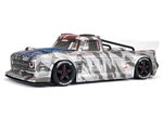 Arrma Infraction V2 6S BLX Brushless 1/7 RTR Electric 4WD Street Bash Truck (Silver) w/DX3 2.4GHz Radio, Smart ESC & AVC