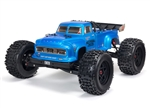 Arrma Notorious 6S BLX Brushless RTR 1/8 Monster Stunt Truck (Blue) (V5) w/SLT3 2.4GHz Radio