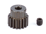 ASC1335 Team Associated FT Aluminum Pinion Gear 48P, 1/8 Shaft 17T