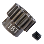 ASC1336 Team Associated FT Aluminum Pinion Gear 48P, 1/8 Shaft 18T