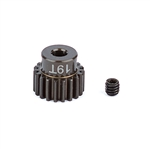 ASC1337 Team Associated FT Aluminum Pinion Gear 48P, 1/8 Shaft 19T