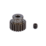 ASC1338 Team Associated FT Aluminum Pinion Gear 48P, 1/8 Shaft 20T