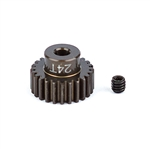 ASC1342 Team Associated FT Aluminum Pinion Gear 48P, 1/8 Shaft 24T