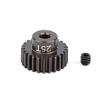 ASC1343 Team Associated FT Aluminum Pinion Gear 48P, 1/8 Shaft 25T