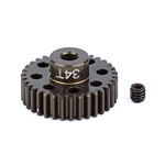 ASC1352 Team Associated FT Aluminum Pinion Gear 48P, 1/8 Shaft 33T