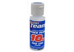 Team Associated FT Silicone Shock Fluid, 10wt (100 cSt)