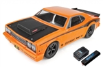 Team Associated DR10 RTR Brushless Drag Race Car Combo (Orange) w/2.4GHz Radio, DVC, Battery & Charger