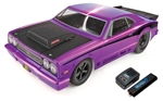 Team Associated DR10 RTR Brushless Drag Race Car Combo (Purple) w/2.4GHz Radio, DVC, Battery & Charger