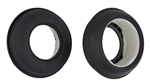 ASC71065 Team Associated Sand Ribbed Tires, with inserts, front