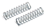 ASC7428 Front Shock Spring silver 3.225 lb