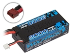 ASC758 Reedy Wolfpack LiPo 3000mAh 30C 7.4V Shorty, with T-plug