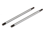 ASC81175 Team Associated RC8B3 FT Chrome Shock Shafts, 3.5x39.5 mm