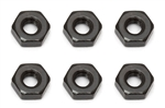 ASC91477 Team Associated M3 Nut Black B5 B5M