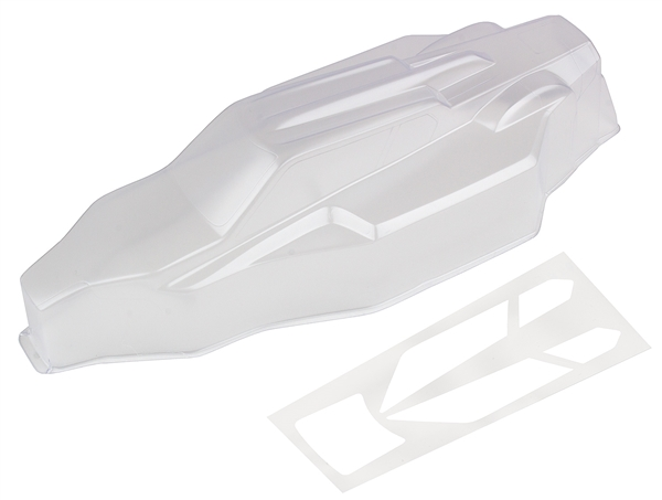 ASC91827 Team Associated B6.1 Body, clear