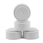 DERPS4LW DE Racing Speedline Plus SC Wheels (TLR 22SCT/SCT2.0 / TEN-SCTE / TEKNO SCT410/410.3) - (front or rear) - WHITE (4)