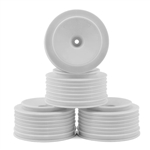 DE Racing Slash 4x4 Wheels 12mm Hex Speedline PLUS SC (White) (4) (SC6/Blitz/SCRT10/Hyper 10SC)