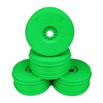 DE Racing Borrego 1/8 Buggy Wheels (Green) (4)