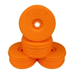 DE Racing SpeedLine 1/8 Buggy Wheels (Orange) (4)