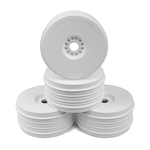 DE Racing SpeedLine 1/8 Buggy Wheels (White) (4)