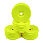 DE Racing SpeedLine 1/8 Buggy Wheels (Yellow) (4)