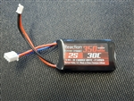 DYNB0012 Dynamite Reaction 7.4v 350mAh 2S LiPo Battery