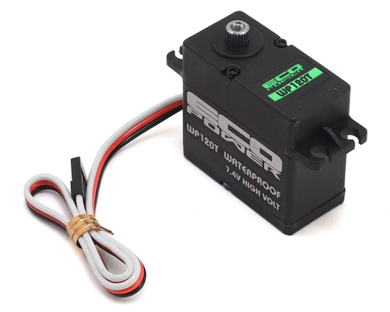 ECP-120T EcoPower WP120T Coreless Waterproof High Torque Metal Gear Digital Servo