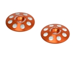 EXO1665ORG Exotek 1/8 XL 22mm Wing Buttons (2) Orange