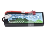 Gens Ace Adventure 2S 100C LiPo Battery Pack w/T-Style Connector (7.4V/5000mAh)