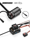 Hobbywing AXE 550 FOC R2 Waterproof Sensored Brushless Combo w/3300kV Motor