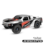 JCO0200 JConcepts Illuzion 2011 Chevy Silverado 1500 Hi Flow Short Course Truck CLEAR Body