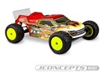 JCO0367 JConcepts Clear Truck Body, for TLR 22-T 4.0 (BODY COMES CLEAR)