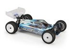 "JConcepts RC10 B74.1 ""S2"" Body w/S-Type Wing (Clear)"