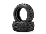 JCO301902 JConcepts Goose Bumps 2.2 Front 4WD Buggy Tires Green 2