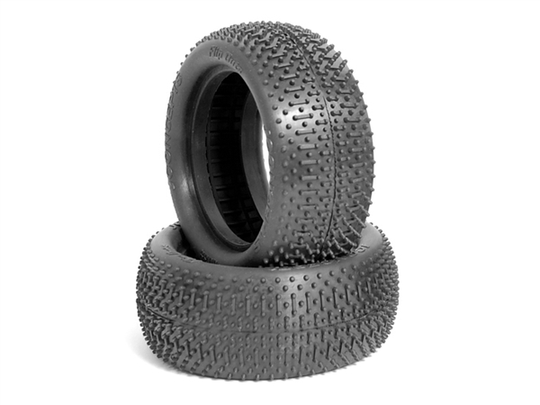 JCO303902 JConcepts Flip Outs 2.2 Front 4WD Buggy Tires (Green) (2)